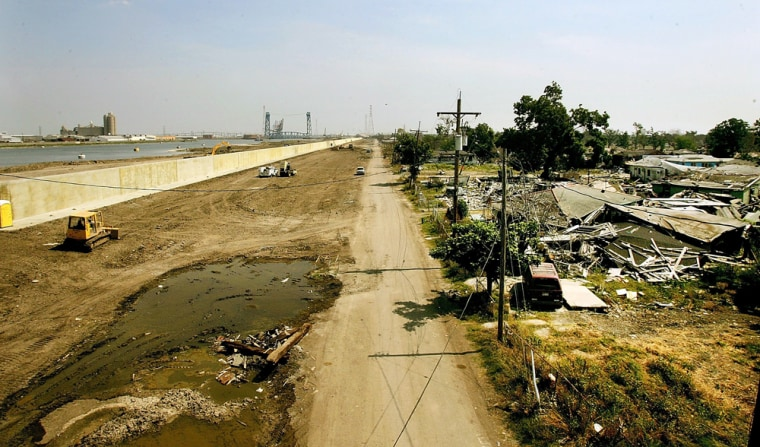 Work Continues On New Orleans' Levee System