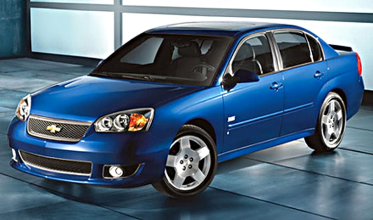 The Chevrolet Malibu does come in an Maxx SS version, but the basic car gets passed by the competition.