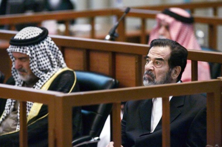 Saddam Hussein, Abdullah Kazim Ruwayyid
