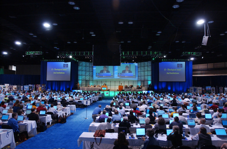 Delegates of the Presbyterian Church (U.S.A.) voted Wednesday to change their official stance on Israeli divestment.