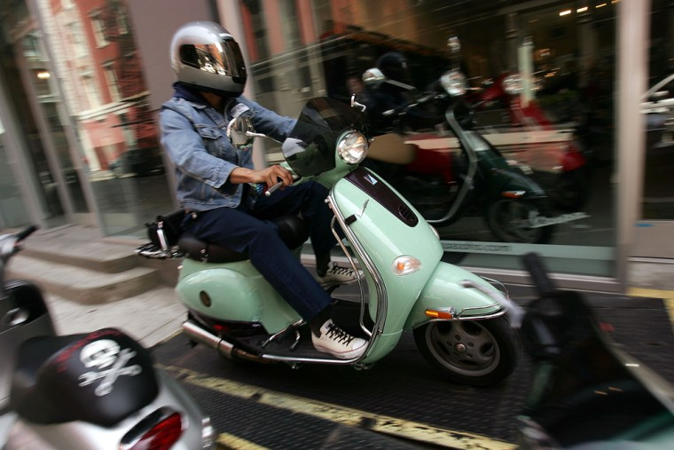 High Gas Prices Prompt A Resurgence In Scooter Popularity