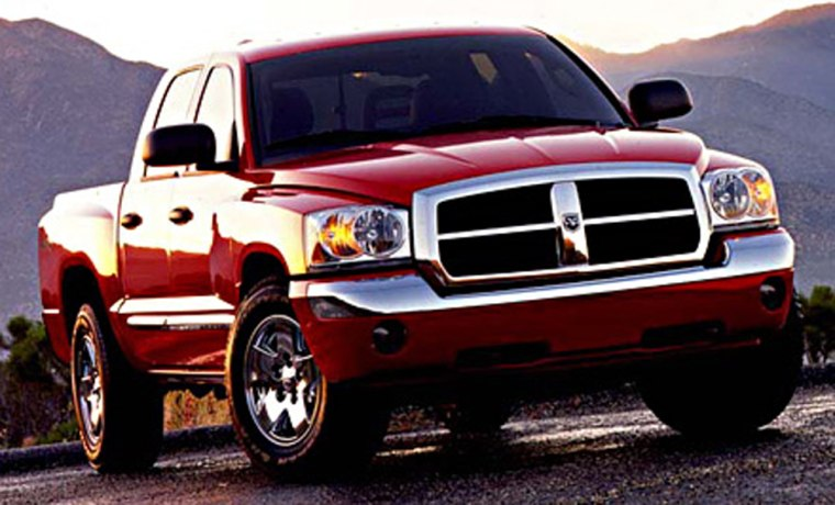 Despite a relatively high total cost of ownership,the DodgeDakota beat out its chief mid-sized truck rivals due to itsparticularly strong crash-test ratings.