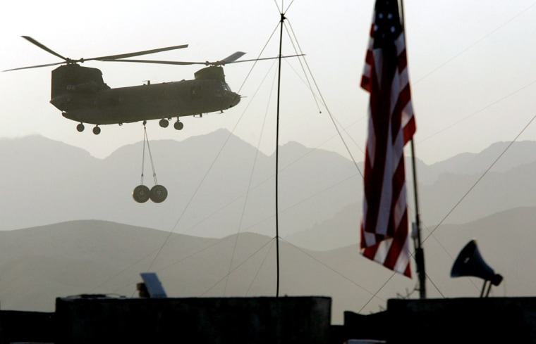 U.S. Forces In Afghanistan On Anti-Taliban Operation Mountain Thrust
