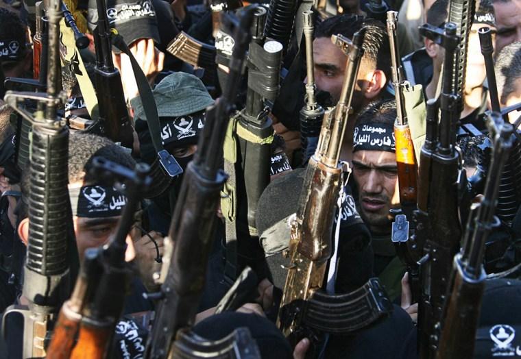 Militants of the Al-Aqsa Martyrs Brigade