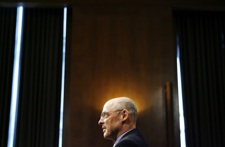 Senate Holds Confirmation Hearing For Treasury Nominee Henry Paulson