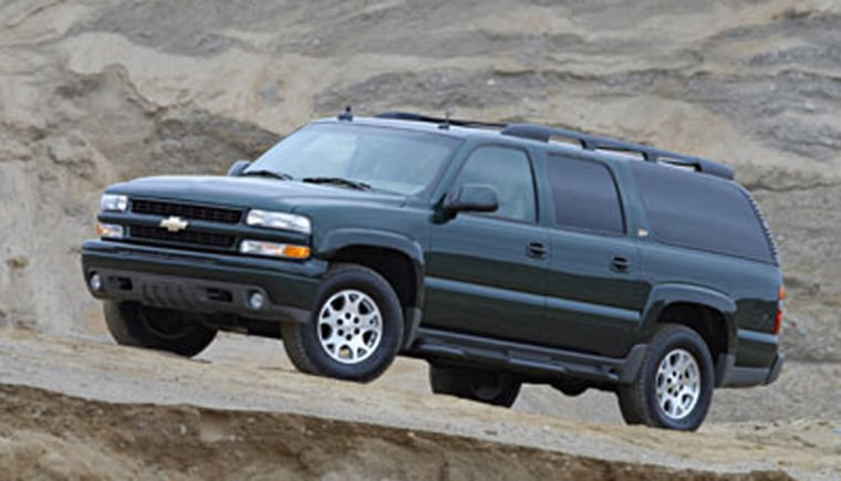 Chevy's Suburban is one of the biggest, brawniest SUVs on the market.