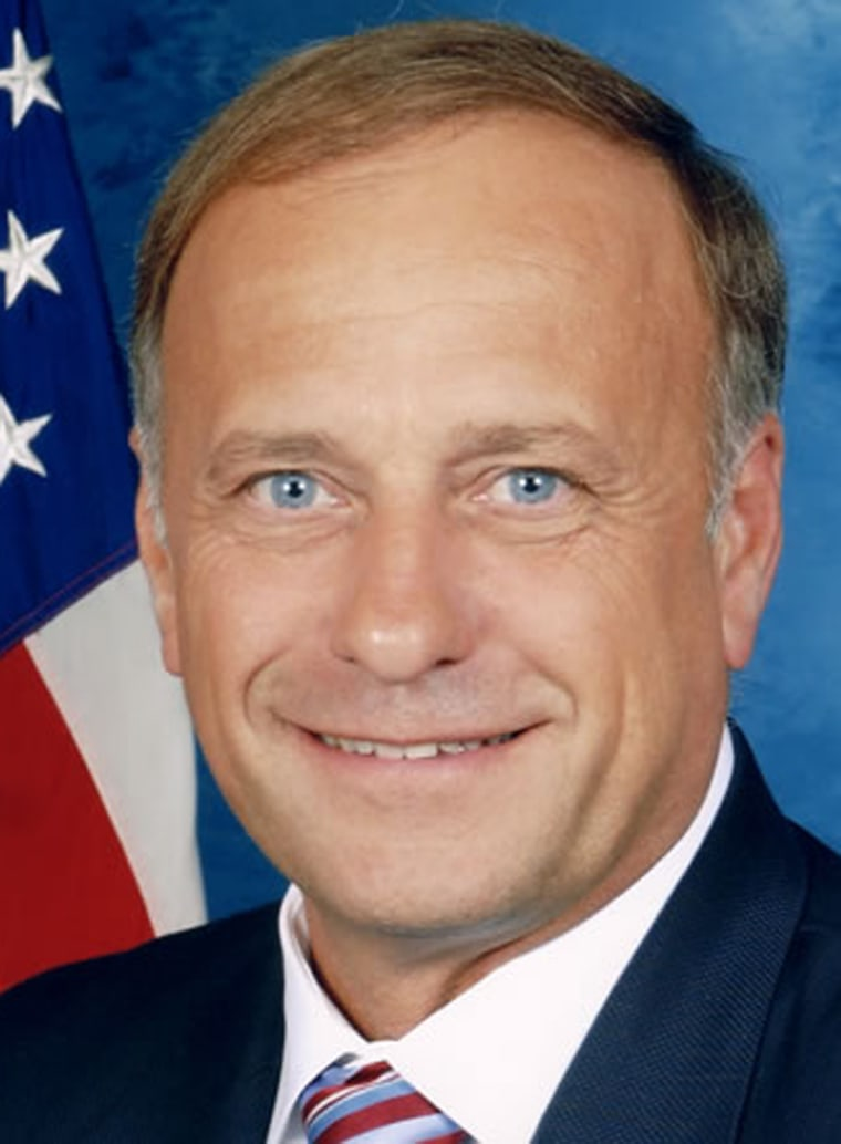 Rep. Steve King, R-Iowa, is leading the fight against non-English ballots.