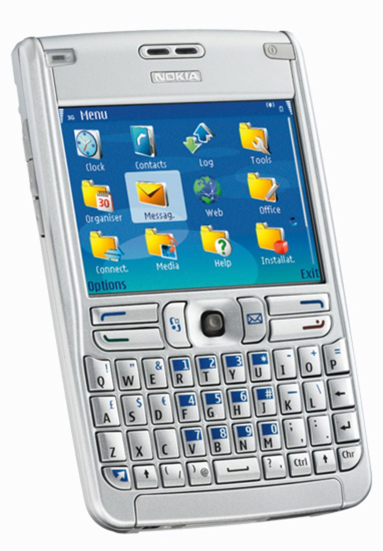 Nokia's E61 World/Smartphone. If rumors are correct we may be getting our own U.S. model soon.