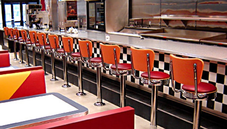 State & Main's first big project was this diner in Carteret, N.J. The owners picked State & Main to not only build the new space, but renovate the existing dining area and provide new equipment.