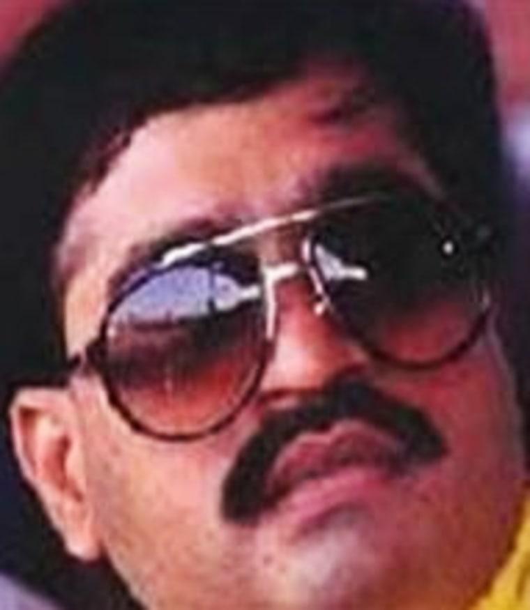 File photo of Dawood Ibrahim, an Indian Muslim with ties to al-Qaida.