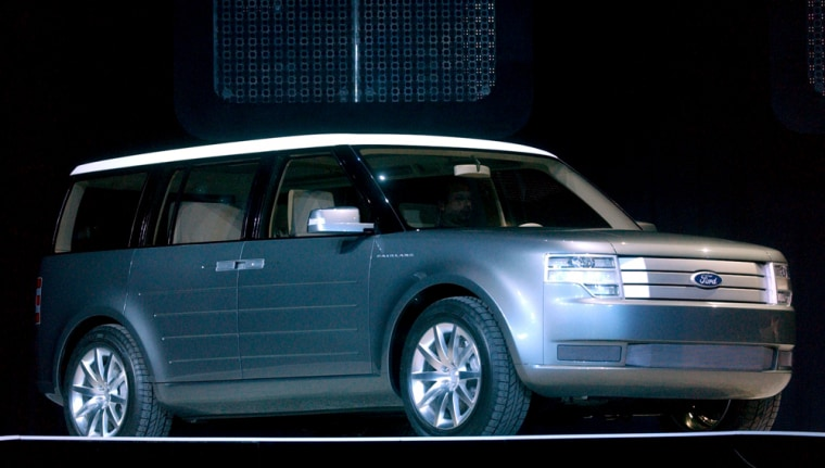 File photo of Ford Fairlane concept wagon at 2005 North American international Auto Show in Detroit