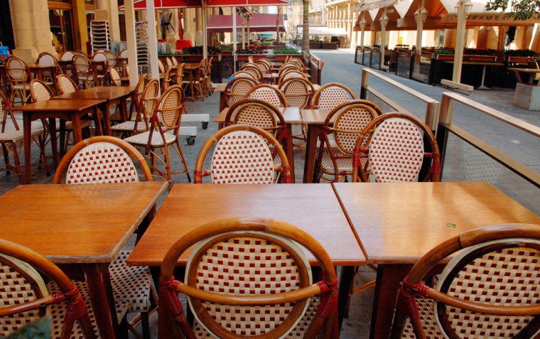 At this time of year Beirut's cafes and shops should be teeming with tourists. They're not.