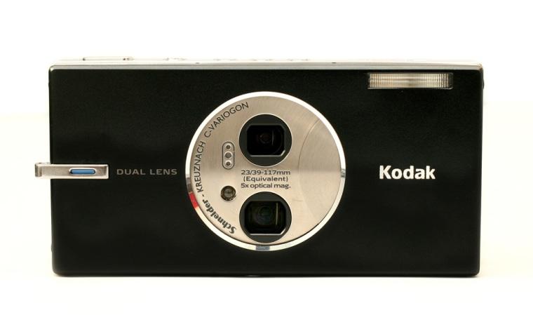 A Kodak EasyShare V570 Dual Lens Digital Camera.