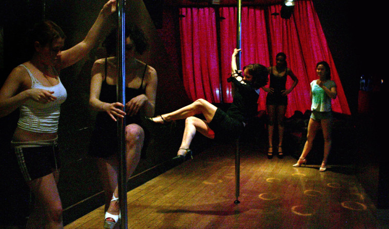 Pole Dancing Promoted As The New Keep Fit Routine