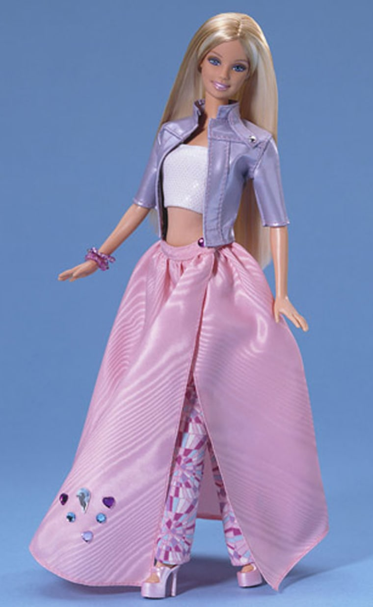 Sales for the iconic Barbie fell 1 percent worldwide, the 11th consecutive quarter of decline for the franchise.