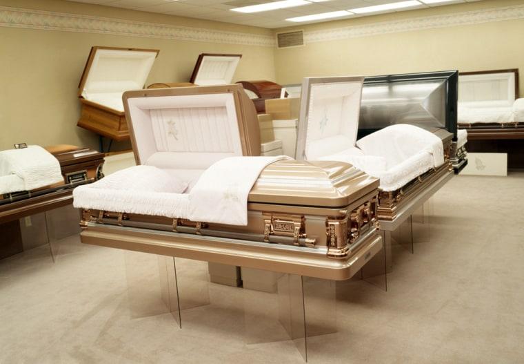 Coffins in Sun City