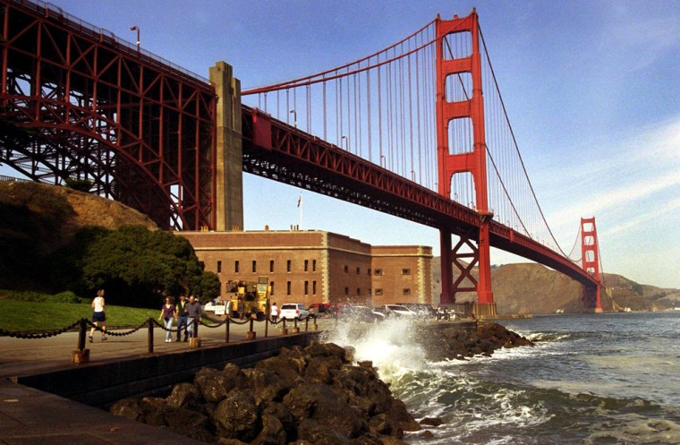 File photo of the Golden Gate Bridge