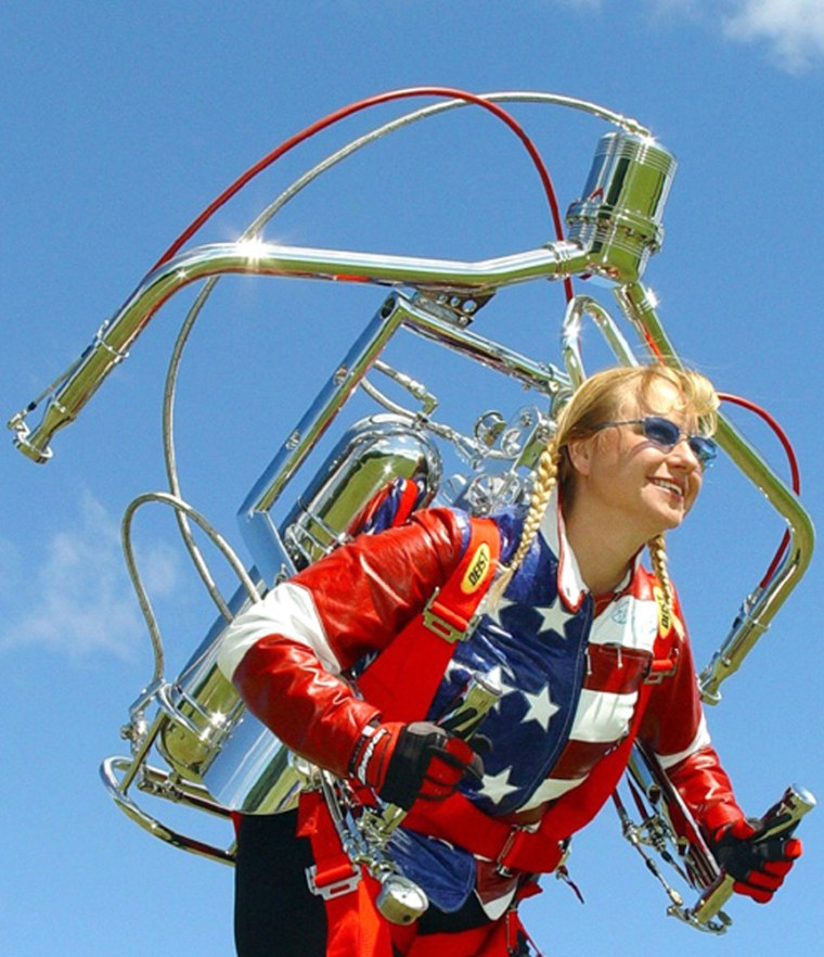 Rocketwoman, Jodi Michaelson has high-flying plans and has years of involvement in the world of rocket powered vehicles.