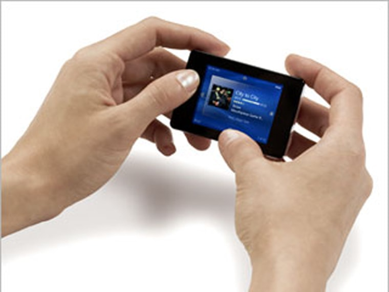 The clix looks even smaller in real life. Its innovative design makes navigation a snap.