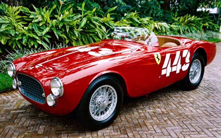 This 1952 Ferrari 225 Sport Spyder to be auctioned this week posted the fastest time overall at the XII Tour of Sicily, and it later placed first overall at the Gran Premio Ciudad de Buenos Aires.