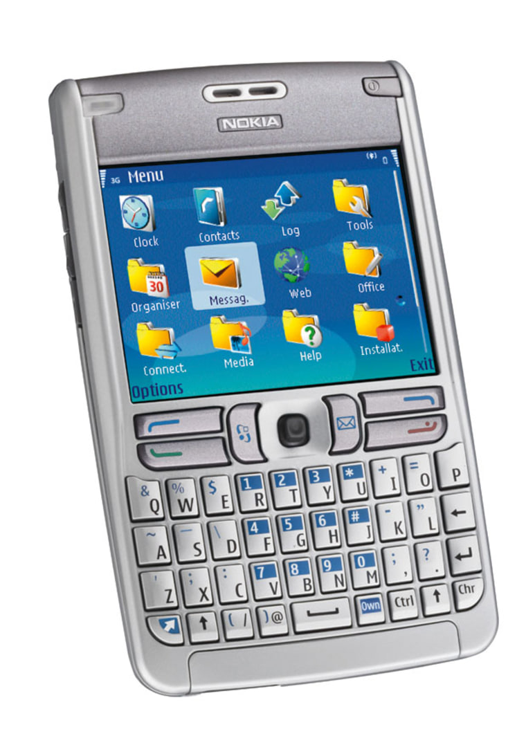 The e62 is kinda similar looking to other smartphones. That's where the similarity ends.