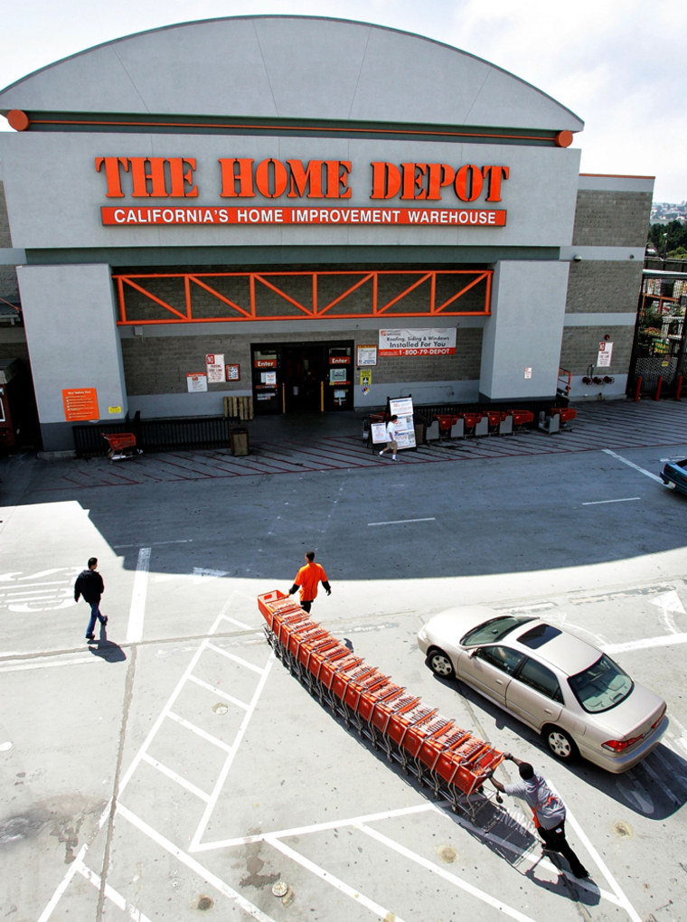 Home Depot Posts 5.3 Percent Rise In Quarterly Earnings