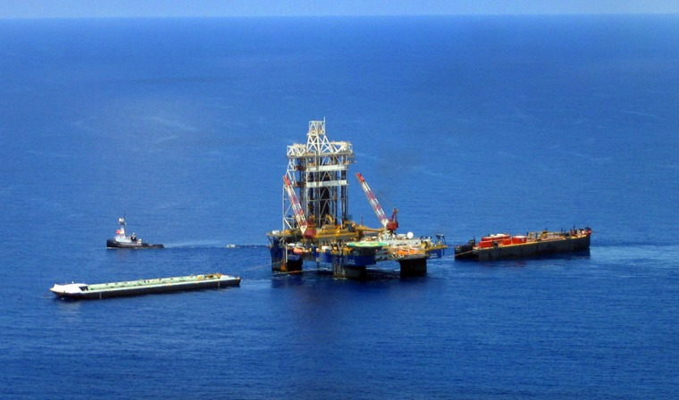 Chevron estimated the 300-square-mile region where its test well sits could hold between 3 billion and 15 billion barrels of oil and natural gas liquids.