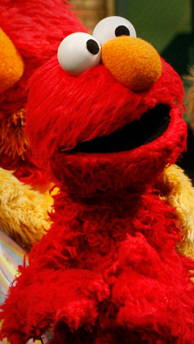 Mattel's much-lovedElmo (pictured) has been given a makeover and the company plans to launch the new $40 T.M.X. Elmo on Tuesday in the hopes of creating a holiday hit. Details are double-secret.