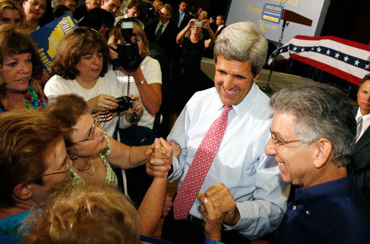 John Kerry, Phil Angelides