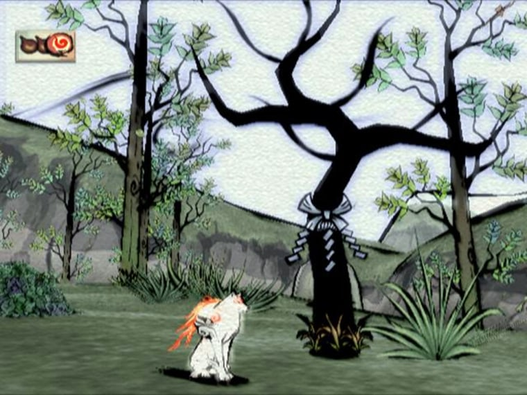 Those who believe video games are nothing more than digitized blood sport and cultural flimflam would do well to take a look at 'Okami' – averitable piece of playableart.