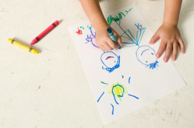Unschooling allows youngsters to chart their own educational course. So if theywant to doodle on the floor instead of opening atextbook, their parents let them go for it.