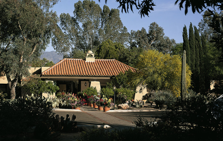 TheCanyon Ranch (clubhouse pictured) in Tucson, Ariz. has been voted best spa by Conde Nast's Traveler magazine 10 times, and may be the best-known resort of its type in America.