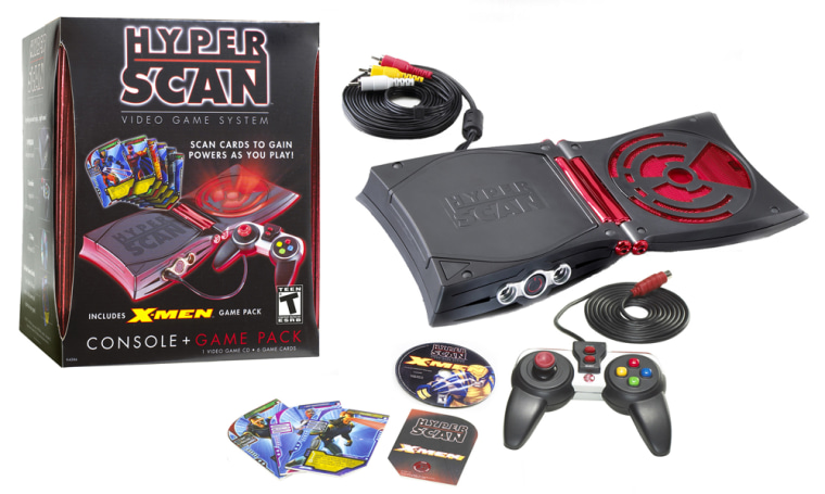 Tween Gamers Get Hyped for Hybrid Revolution as New HyperScan Game System Hits Shelves