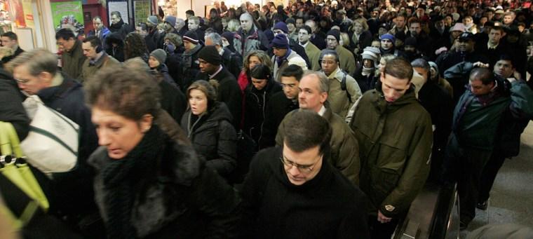 Transit Strike Enters Second Day