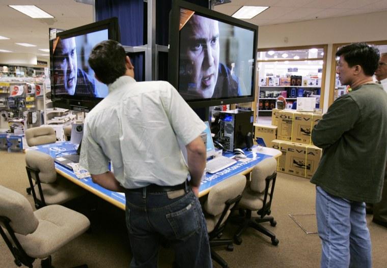 Hewlett Packard Plasma HD television, Micro Center