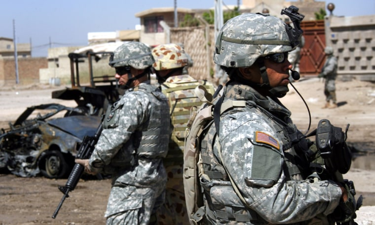 The death toll of U.S. soldiers in Iraq is at 86 so far in October.