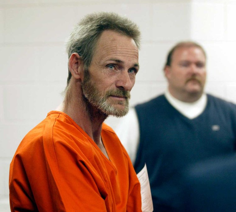 Kidnap-rape suspectKenneth Glenn Hinson appears at his bond hearing in March.