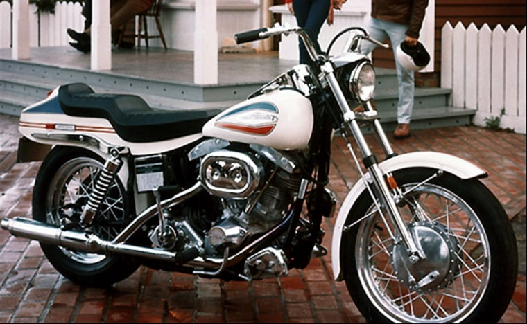 Harley-Davidson's latest line of motorcycles still retains many of the classic design elements found in this iconic 1971 FX Super Glide.