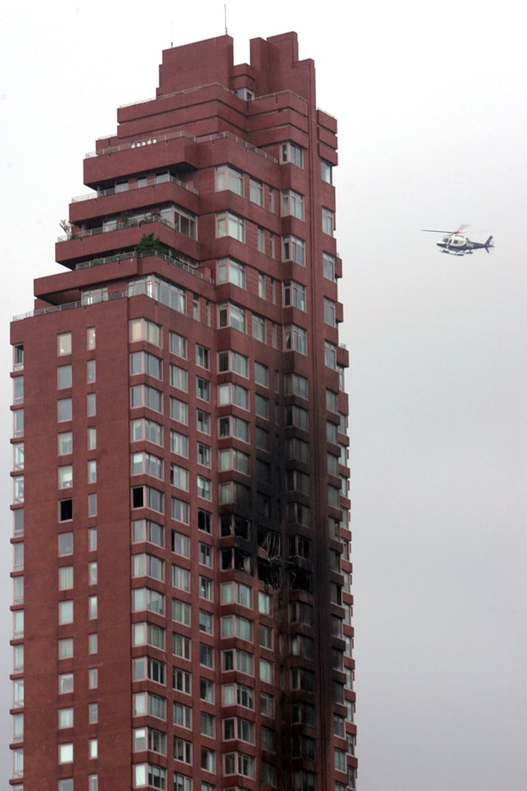 Small Aircraft Crashes Into Building In New York City