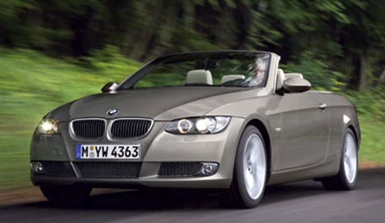 The BMW 330 Ci convertible retains 67 percent of its value after two years.