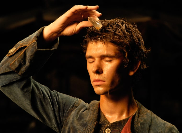 """Actor Ben Whishaw is shown in a scene from the new film """"Perfume: The Story of a Murderer."""" Whishawportrays Jean-Baptiste Grenouille, a 18th-century French perfumer who becomes a serial murderer to create the perfect scent."""