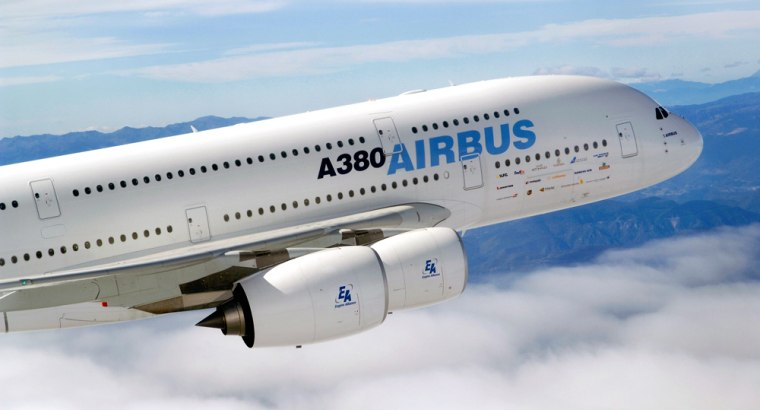 The double-decker Airbus A380 will be the biggest passenger jet when it goes into commercial service, but costly production problems have pushed back that date by two years so far.