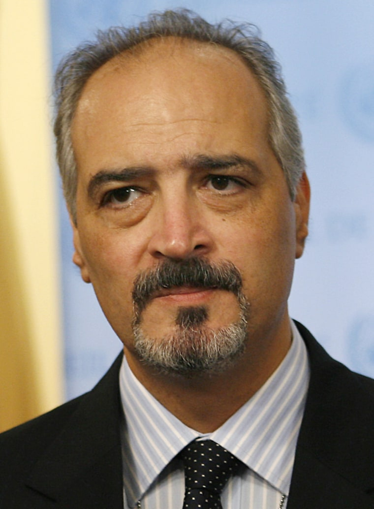 Syrian Ambassador to the U.N. Bashar Jaafari