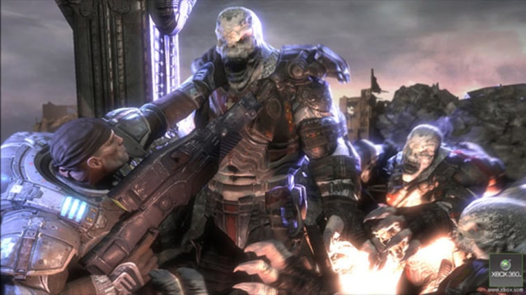 """The subterranean Locust racein Epic Games' """"Gears of War"""" are on a mission to purge the planet of humans."""