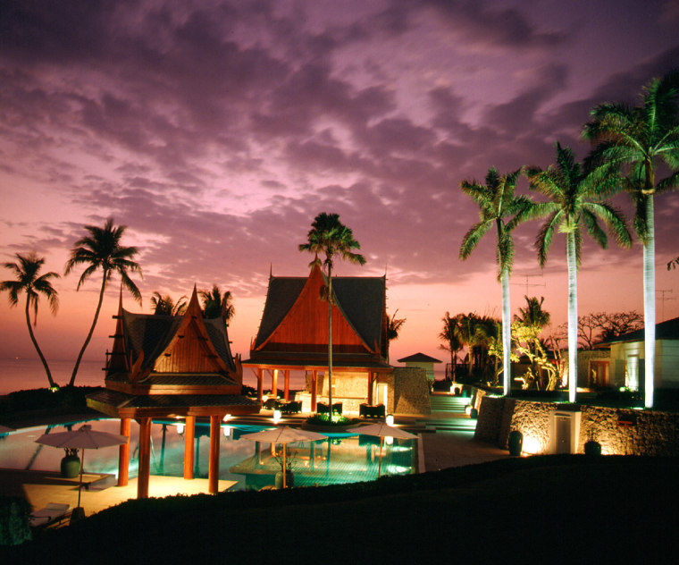 The Chiva-Som International Health Resort in Thailand.
