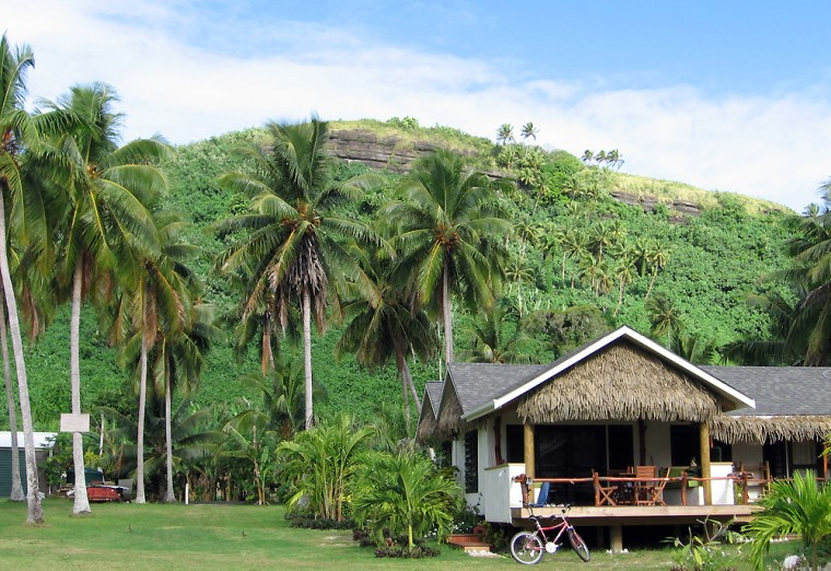 Accommodations on Aitutaki range from pricey resort bungalows to beach houses.