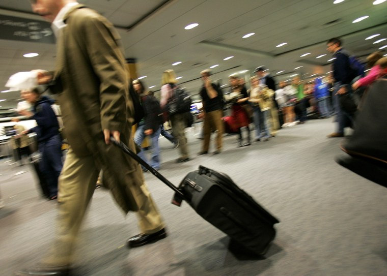 With inexperienced travelers flying over Thanksgiving and more inexperienced screeners working the airports, you've got a perfect storm of stress and frustration, Travel columnist Rob Lovitt writes.