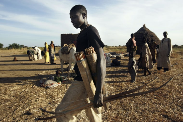 Chadian Villagers Flee Area As Hundreds Killed