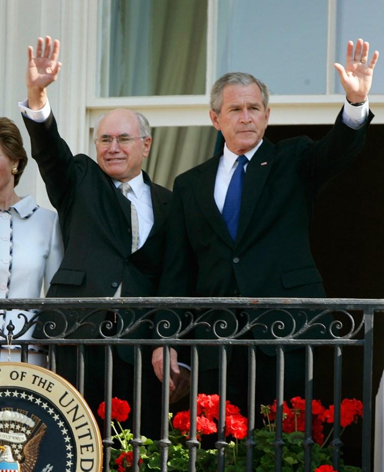 George W. Bush, John Howard