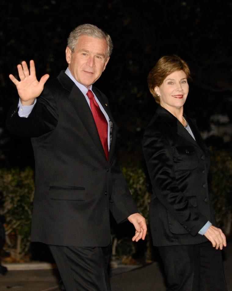 George W. Bush, Laura Bush
